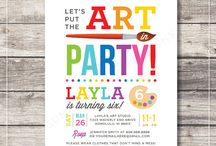 Parties :: Princesses and Dragons Art Party