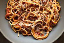 pasta / by Sheri Wilkinson