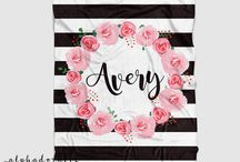 Alphadorable Personalized Baby Blankets