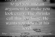 Narcissism/Alienation/Abuse