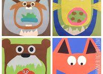 Natur und Kinder / kreative Ideen fuer Kinderunterricht