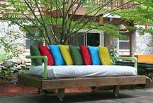 Pallet Beds / Pallets Ideas, Designs, DIY, Recycled, Upcycled Pallet Plans And Projects.