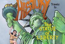 Statue of Liberty LMH book at Walmart