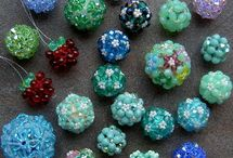 Beads: beaded / Beads created from smaller beads