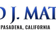 Law Offices of Donald J. Matson, PC / Law Offices of Donald J Matson, PC is a professional law firm in Pasadena, CA. We are one of the experienced and certified Personal injury Attorneys' in Pasadena, CA. In case if your family member is injured due to the negligence of any other person we provide you legal assistance and recover compensation for your sufferings. In Law Offices of Donald J Matson, PC we clearly understand the sufferings of a person involved in serious accident and fight for justice on their behalf.