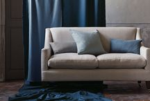 Emin Linen Blend / A versatile linen viscose blend with a gentle lustre and soft, supple handle that drapes beautifully yet remains durable for upholstery.