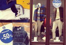 Northsails Trieste / Negozio di abbigliamento sportware.