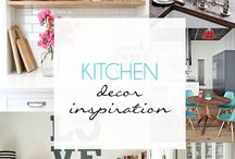 Kitchen Decor Inspiration  / A collection of inspiring decor ideas for your Kitchen.