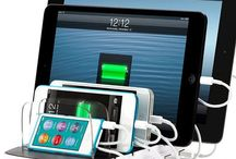 Docks, chargers and speakers