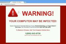 How to Recognizing virus – spyware attacks http://mindxmaster.blogspot.com/2015/10/how-to-recognizing-virus-spyware-attacks.html