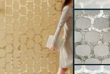 Luxury Wallcoverings - Mother of Pearl / Hand‑crafted veneer of layered capiz shells. Hand‑inlaid and protected with a stain‑resistant topcoat.