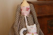 bambole / come realizzare bambole di stoffa, feltro ed altro