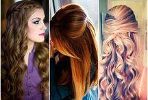 Penteados simples / Lugar onde você, que não tem tempo ou disposição, vai aprender penteados super fáceis e práticos.