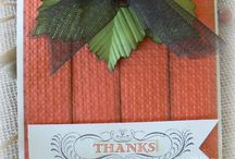 Fall/ Thanksgiving Cards