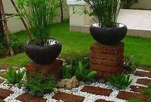 Jardines con piedra