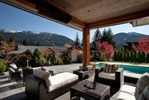 Outdoor living rooms / The space that we create outdoors