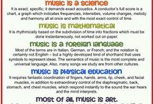 That's a fact! / Music education facts and infographics / by Kathleen Heuer