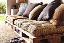Pallets meubelen