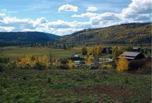 The changing of the seasons in Colorado- Autumn / The autumn season in Colorado is amazing.  Many people come to Colorado for fall vacations to soak up the changing aspens, the clear skies, the crisp nights, and the amazing adventures.  Here's a taste of fall vacations at Vista Verde Ranch