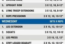 3 days high intensity training workout