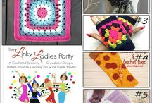 #LinkyLadies / #LinkyLadies is a link up party where you can find some of the trending new crochet patterns