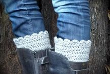 Boot Cuffs / Funk up your pins this winter with a pair of woolly boot toppers!
