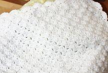 American girl crocheted blanket