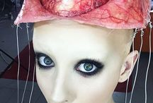 halloween make up like woah