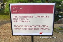 Translations / Weird Signs and Translations of Sign!