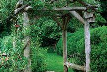Rincones en el jardin