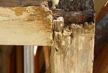 madera dañada