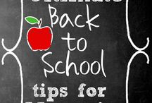 Back to School / Tips for making back to school schedules more doable!