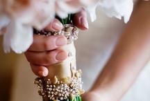 ножка свадебного букета