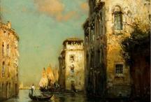 Живопись.Венеция.