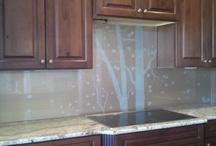 Glass Backsplashes