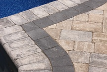 Pool Coping / Check out our favorite installations of pool coping using natural stone, artificial stone, and brick.