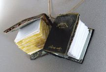 tiny book charms