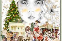 Xmas Eyes of Child