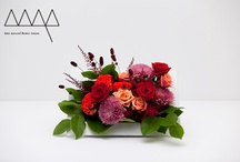 Our floral designs / designed by âme natural flower lesson.enjoy!!