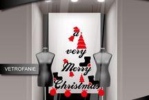 vetrofanie - natale / vetrofanie natalizie realizzate in stampa digitale o in vinile prespaziato.  http://www.santorografica.com/shop/310-vetrofanie-natale