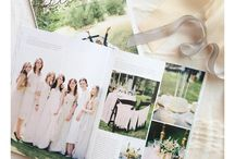 Styled Wedding Magazine Snippets / A peek inside Flutter Magazine's wedding and entertaining inspiration straight from readers!