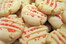 shortbread cookies  with  cornstarch