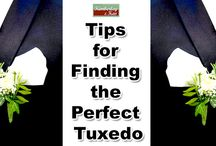 Tips for Finding the Perfect Tuxedo / For a flattering look, men need the right fitting tuxedo for the wedding and there are a few things you can do to make sure what you get is a perfect fit. http://www.kimberleyandkev.com/tips-finding-perfect-tuxedo/