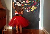Pintura de pizarra / Ideas para decorar con pintura de pizarra cualquier pared, puerta o superficie.