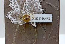 Stampin Up Thanksgiving