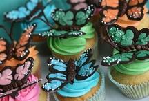 deko für torten und cupcakes