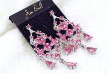 Complete The Look - Pink & Purple Rhinestone & Crystal Jewelry