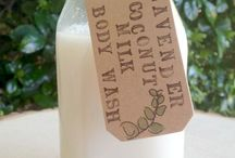 Homemade cosmetic and cleaning products