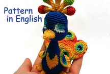 Amigurumi pattern. Crochet toys. / On this board you will find descriptions of crochet toys and assesories. Pattern are free and paid, in Russian and English. This is a common board. If you want to get to it, write a request to semizwetik@list.ru http://maj-ja.ru/ - my site @ja_maj_ja - my instagram Svetlana Tsvetkova