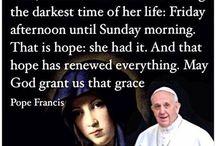 Poselství světu, Papež František.